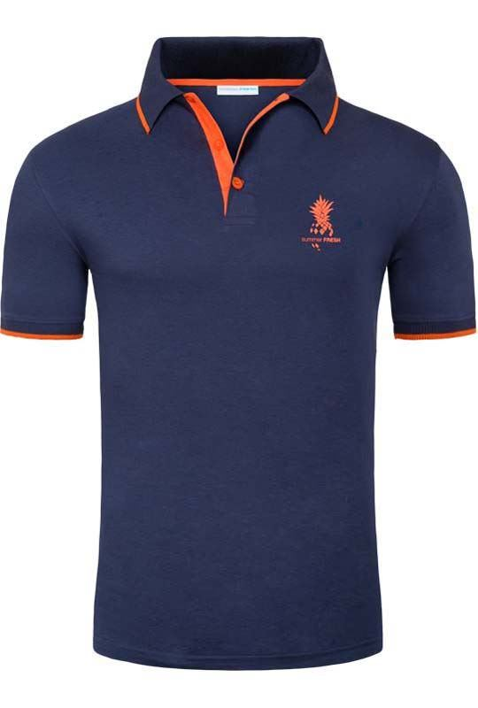 Summerfresh Polo Shirt SINES Men ink