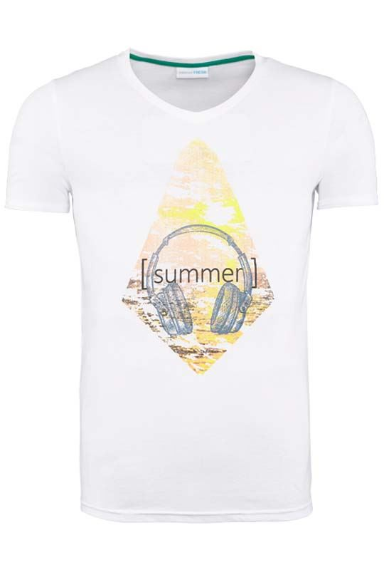 Summerfresh T-Shirt PATTY weiß