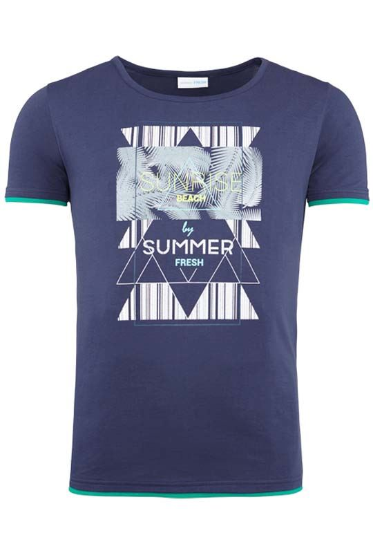 Summerfresh T-Shirt LUCA navy