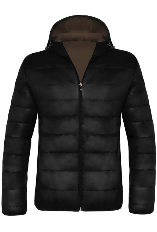 MALEXXIUS Jacket Men schwarz-braun