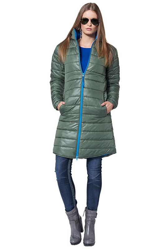 MALEXXIUS Winter jacket JULIA Women olive-blau