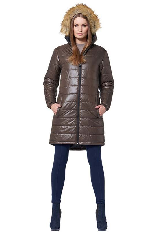 MALEXXIUS Winter jacket LUCRETIA Men braun