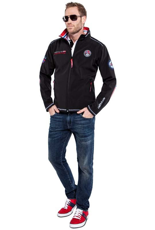 Softshell jacket MAESTRO Men schwarz