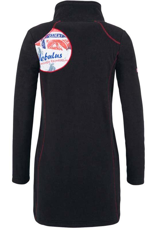 fleece coat COVENTINA Women schwarz