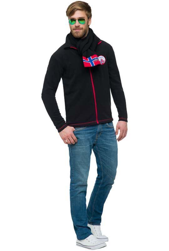 Fleece jacket TUCSON Men schwarz