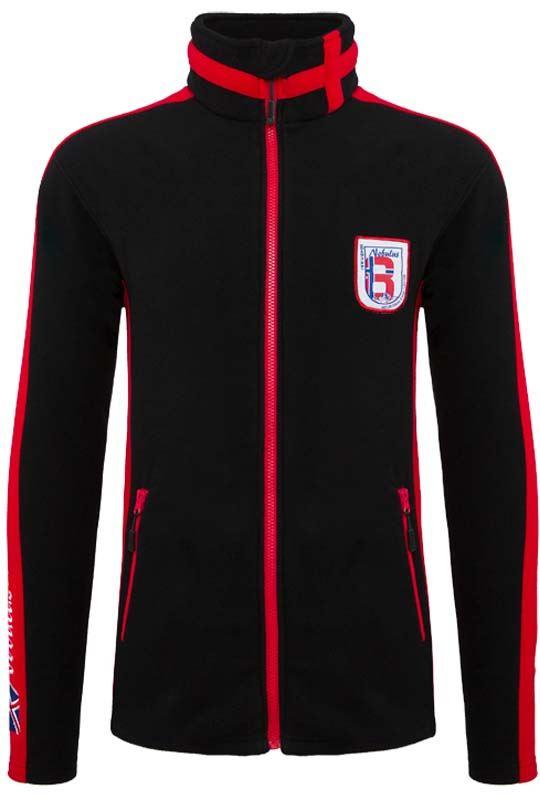 Fleece jacket SKANDER Men schwarz