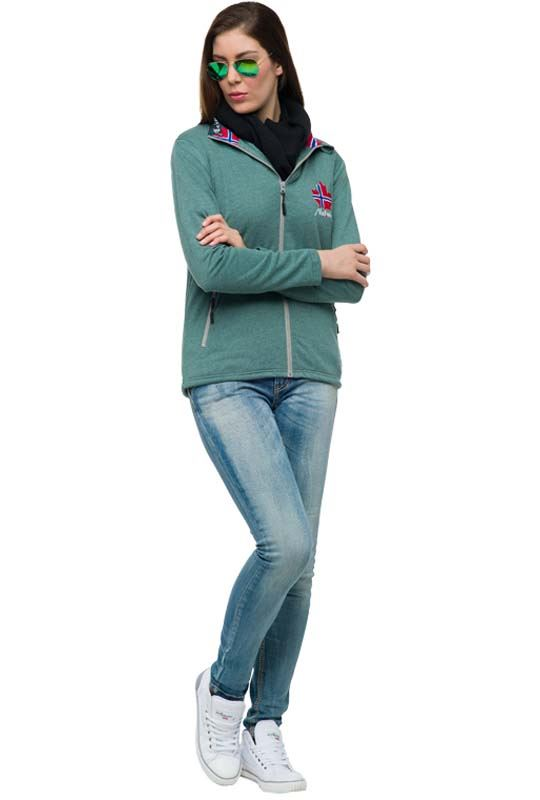 Fleece jacket GAP Women grün