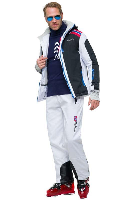 Ski Jacket LOKE Men weiß