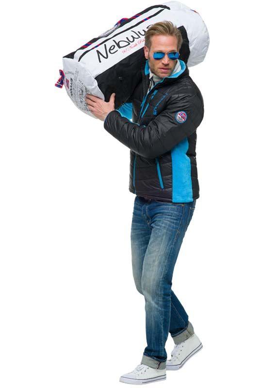 Winterjacket GRAPH Men schwarz-blau