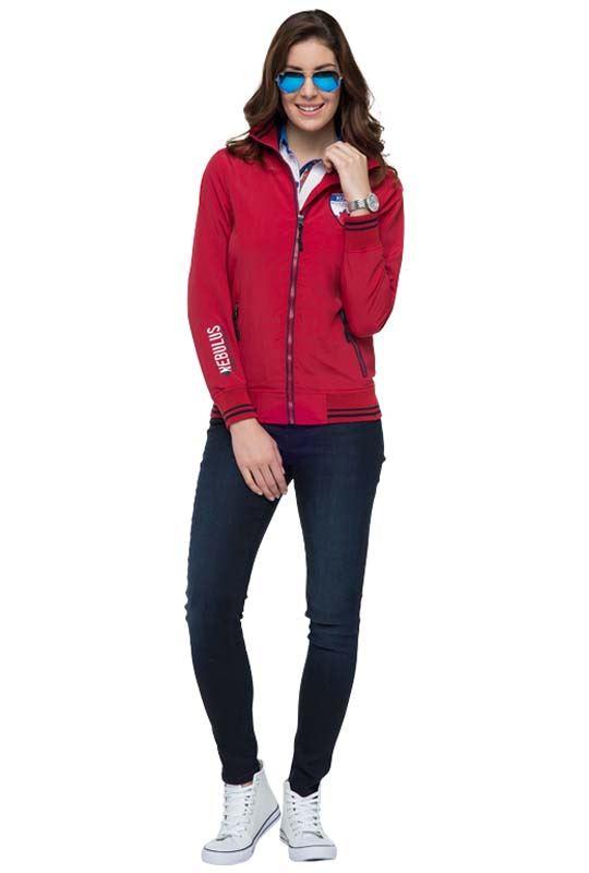 Jacket NORDFJORD Women rot