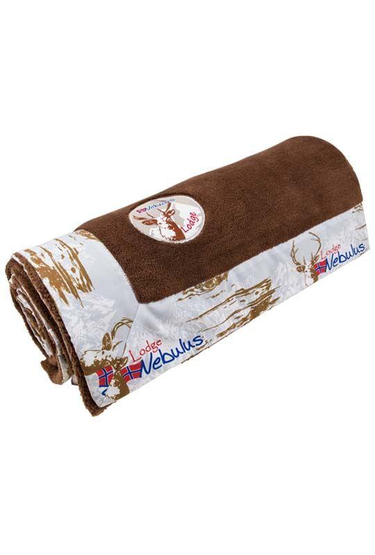 fleece blanket TOUCH Unisex braun