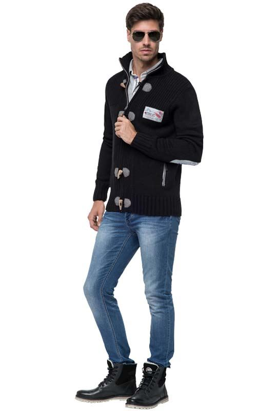 cardigan TORRENTO Men schwarz