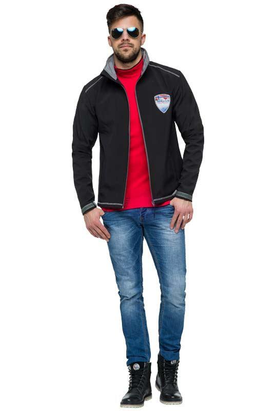 Softshell Jacket PEAK Men schwarz