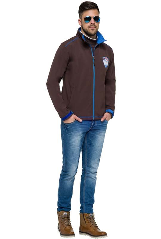 Softshell Jacket PEAK Men braun