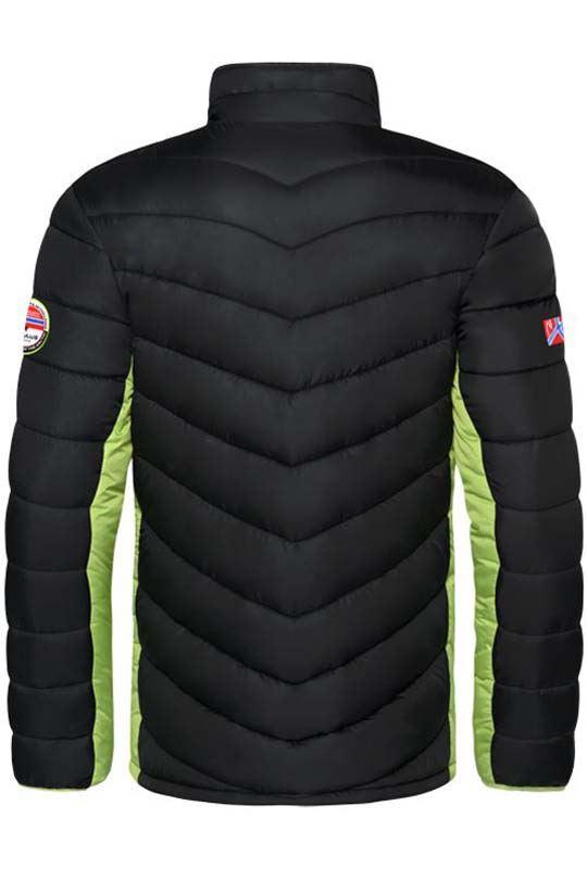 Winter jacket GRAFFITY Men schwarz-lime_g
