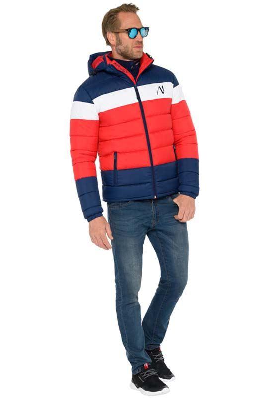 Jacket MIXUP Men rot-blau