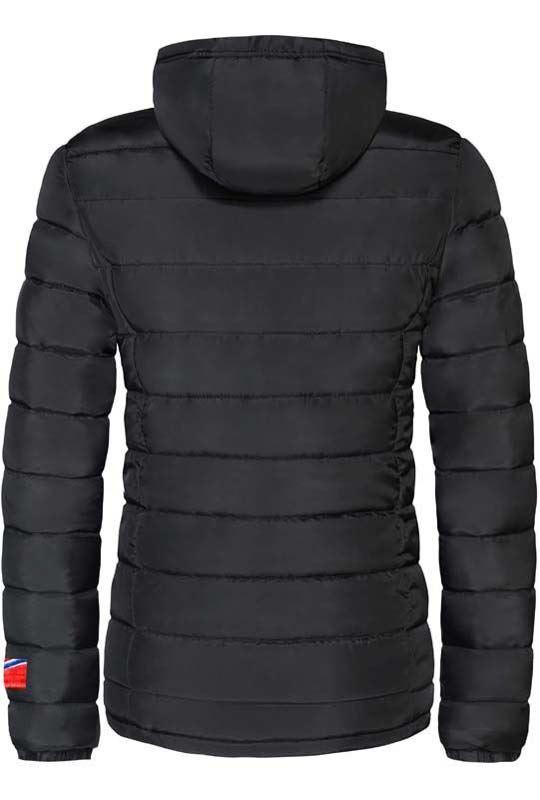 Winter jacket GLOWFUR Women schwarz
