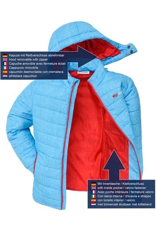 Winter jacket COLORS Men lime