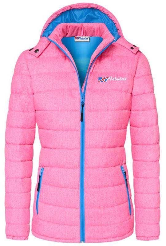 Winter jacket COLORS Women pink