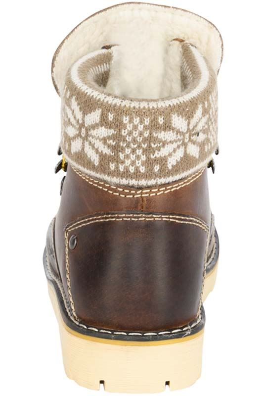 Winter boot FURGIE Women braun
