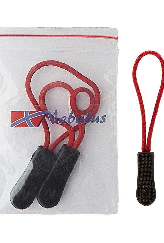 Zipper-Puller 3er Set JOY Unisex rot