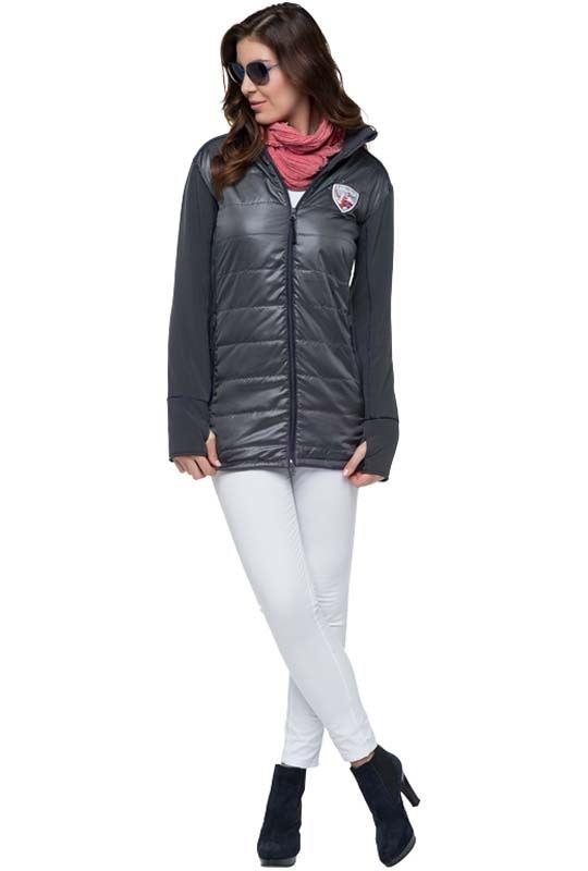 Winter jacket LIGHT Women dunkelgrau