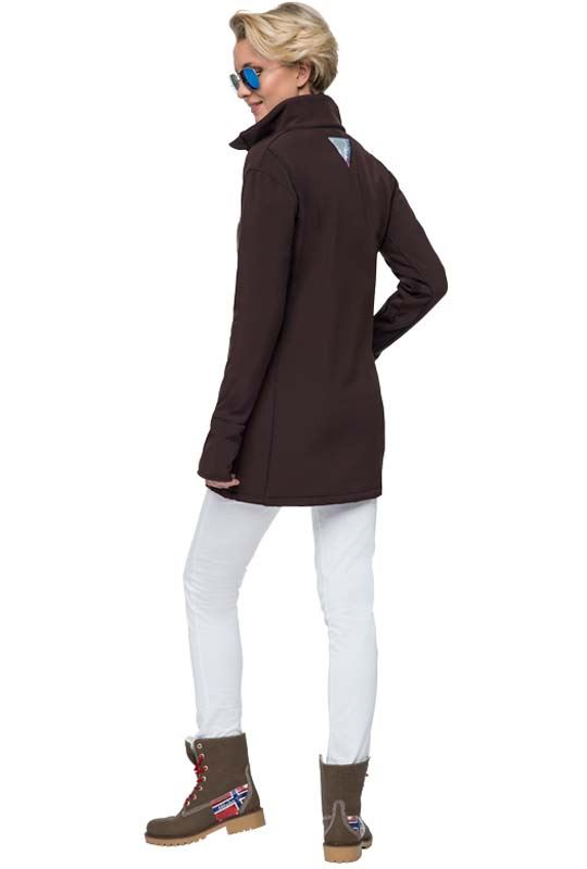 Winter jacket LIGHT Women dunkelbraun