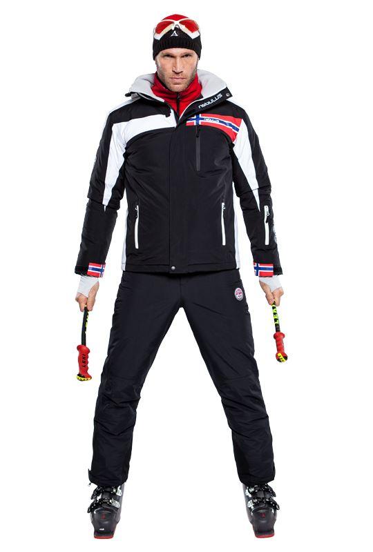 Ski pants DOWNHILL Men schwarz