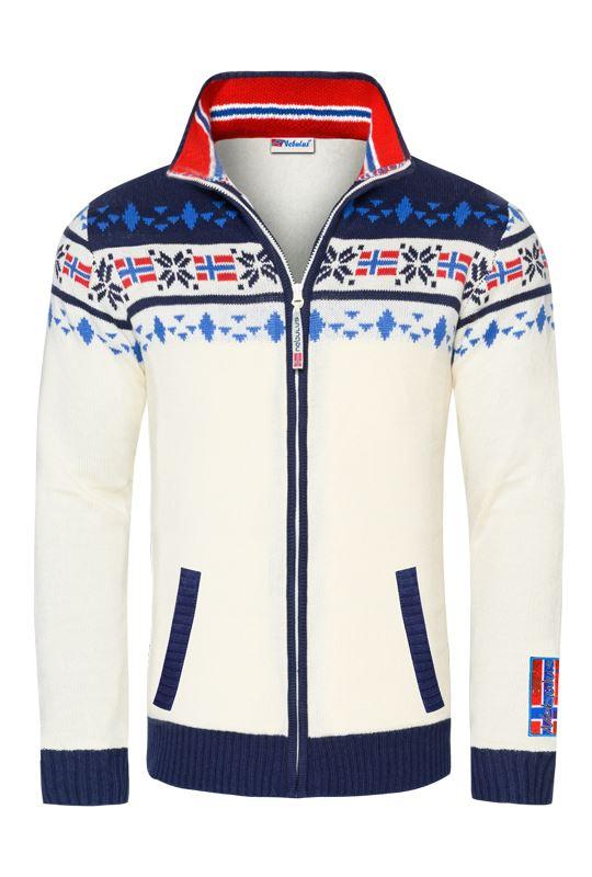 Norwegian jacket CANADIAN Men offwhite-navy