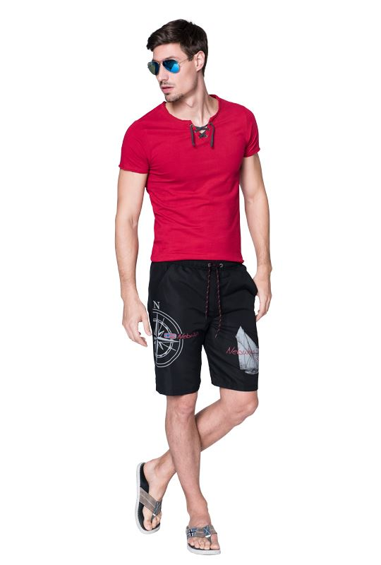 Bathing short SKANDEN Men schwarz