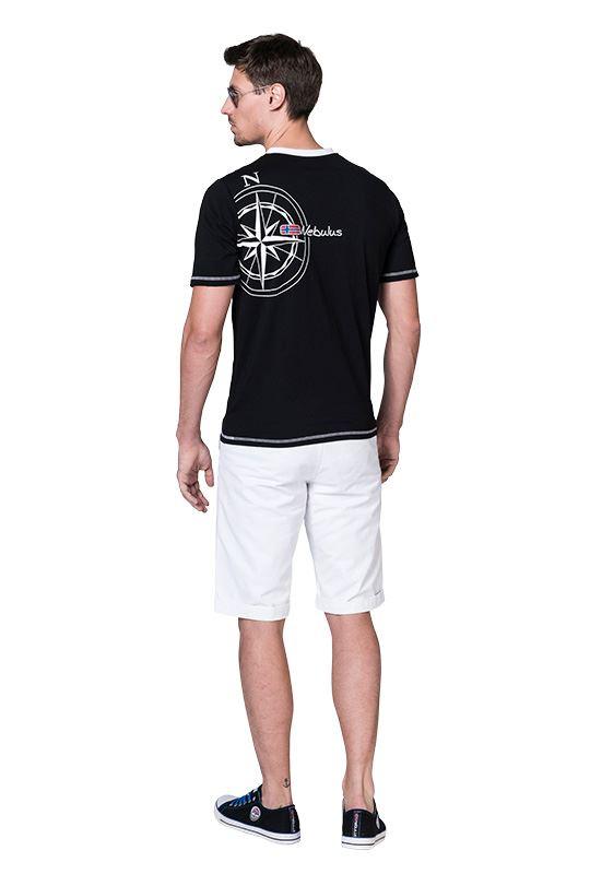 T-Shirt LINES Men schwarz