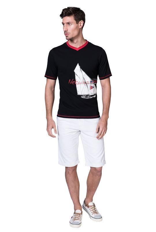 T-shirt AHOI Men schwarz