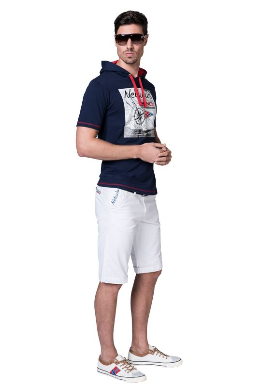 Chino Short DEEP Men weiß