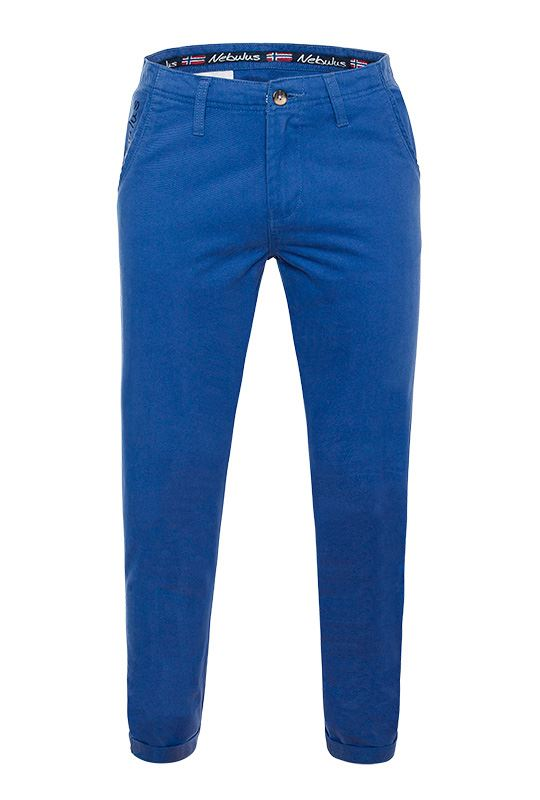 Cotton chino FUTURE Men amparo_blau
