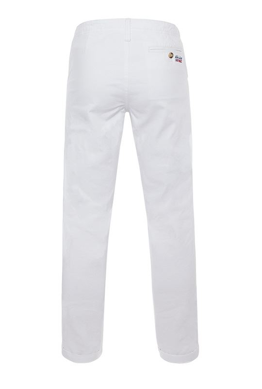 Cotton chino FUTURE Men weiß