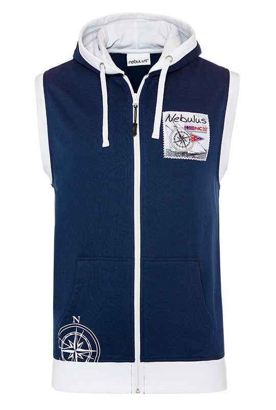 Hoody vest ROCKY Men navy