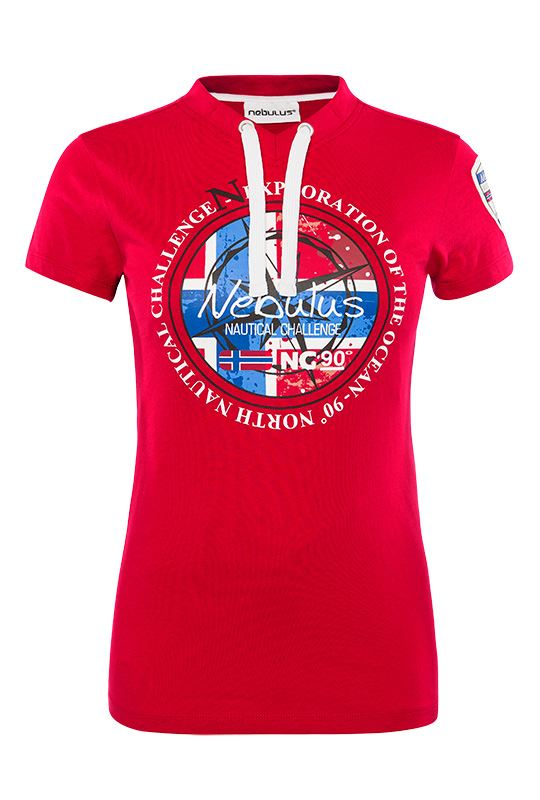 Lillehammer Lilyhammer Flamingo Bar Logo Damen T Shirt TV Serie Fanshirt Fan