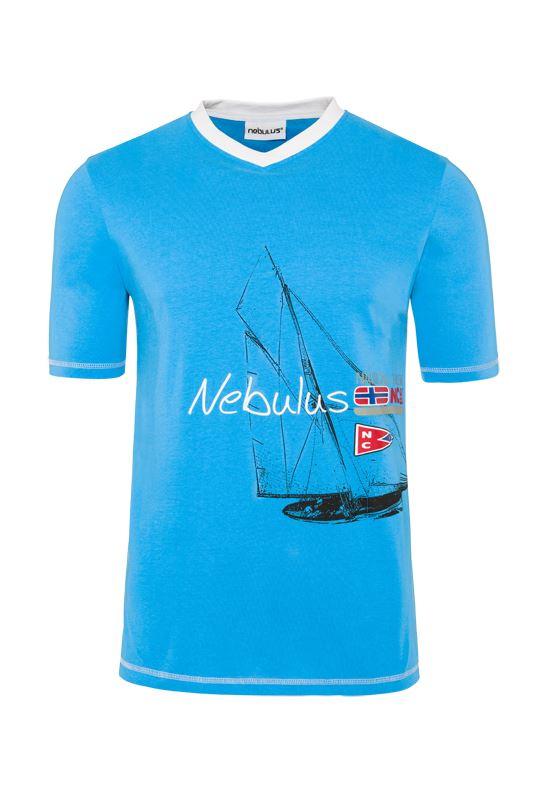 T-Shirt AHOI Herren malibu_blau
