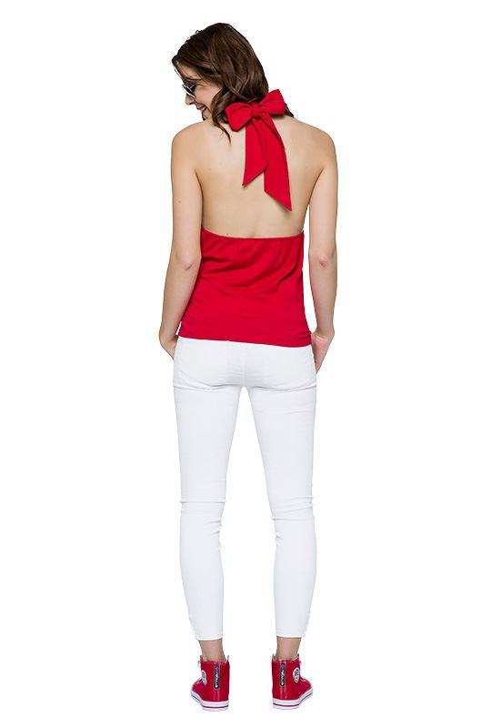 Cotton Neckholder SUNNY Women rot