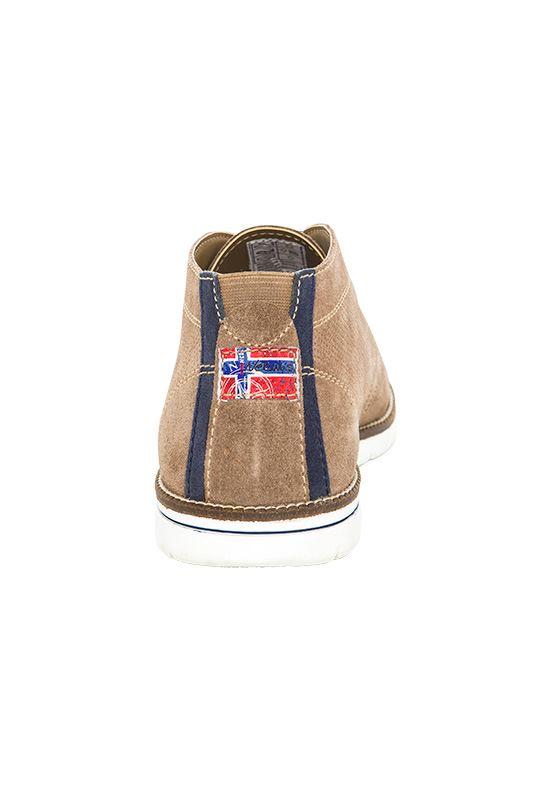 Leather shoes PLENTY Men taupe_navy