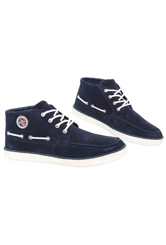 Boat shoes GLIDER Men navy_weiß