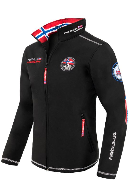 Softshell jacket MAESTRO Men schwarz