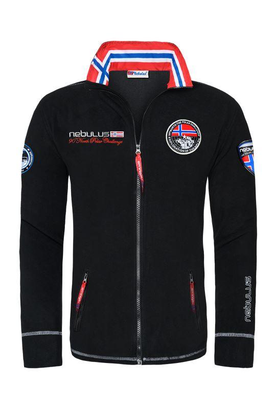 Fleece jacket EXPLORE Men schwarz