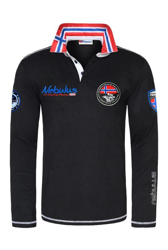 bester Wert heißes Produkt herausragende Eigenschaften Poloshirt langarm BENTY Herren