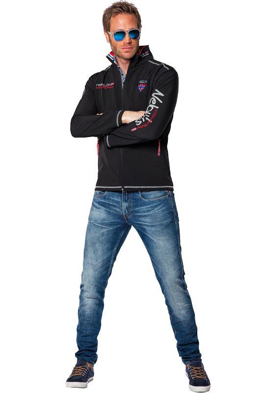 Softshell jacket STYLER Men schwarz