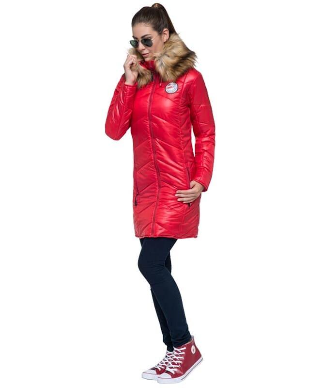 Mantel BROOKLYN Damen rot