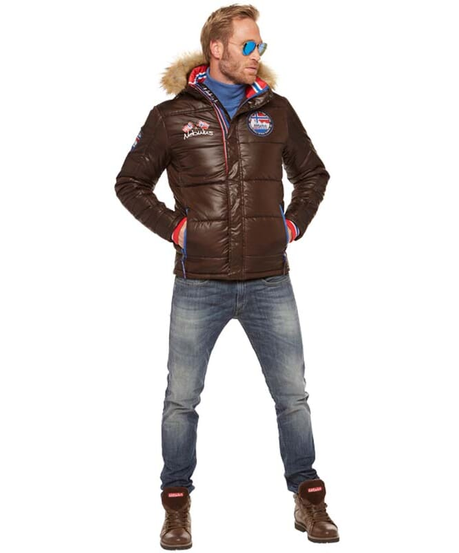 Winterjacke NANGA Herren braun
