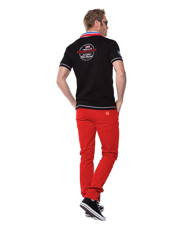 Poloshirt BENTER Herren schwarz