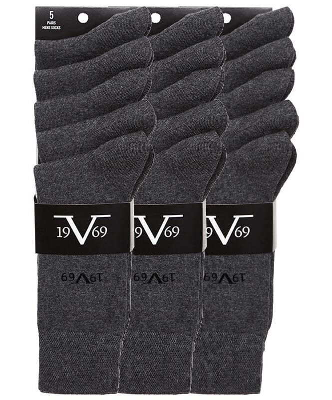 19V69 Business Socken 15er Pack Herren anthrazit