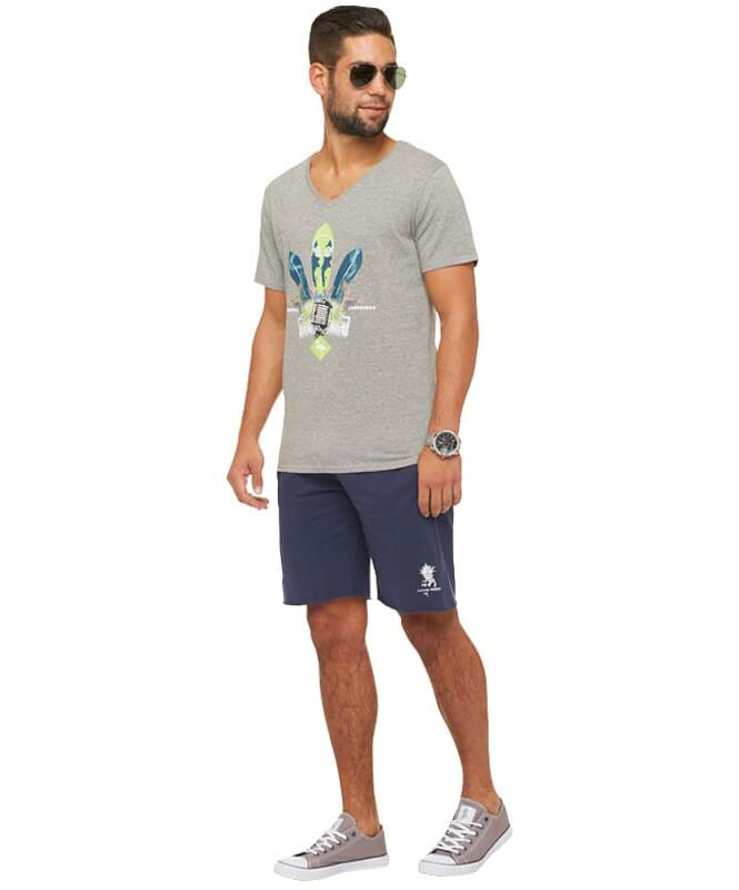 Summerfresh T-Shirt COCKTAIL Herren grau